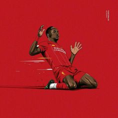 Excellent football player illustrations created by FCVectoraldo. They featured present day greats as well as past legends in a variety . Liverpool Fc Wallpaper, Liverpool Wallpapers, Lfc Wallpaper, Iphone Wallpaper, Liverpool Premier League, Liverpool Football Club, Legends Football, Football Art, Sadio Mane