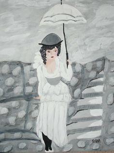 Alfie...acrylic on canvas