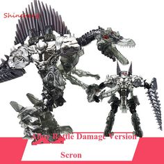 33.00$  Watch here - http://aliq51.shopchina.info/go.php?t=32407454807 - SHINEHENG New Arrival Deformation Movie 4 Scron Robot Dinosaur Model ABS&Alloy Action Figure Toy Boy Gift Battle Damage Version 33.00$ #buyonline