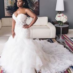 Plus Size Wedding Gowns, Country Wedding Dresses, Dream Wedding Dresses, Bridal Dresses, Beauty And The Beast Wedding Dresses, Plus Size Brides, Custom Wedding Dress, Sweetheart Wedding Dress, Mermaid Wedding Gowns