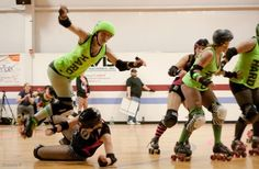 10 reasons would shout watch roller derby