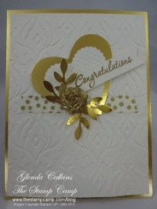 Gold Card - great for a 50th anniversary