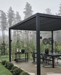 Outdoor Pergola, Outdoor Spaces, Outdoor Decor, Outside Living, Outdoor Living, Back Gardens, Outdoor Gardens, Backyard Gym, Paved Patio