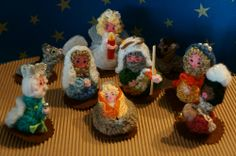 Nacimiento amigurumi ~ crocheted nativity