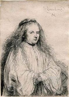 The Little Jewish Bride (Saskia As St. Catherine)