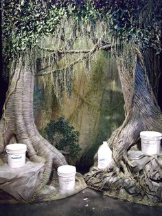 Three-Dimensional Foliage Scenery = The Most Fun You'll. Trees created using Rosco scenic materials.Trees created using Rosco scenic materials.