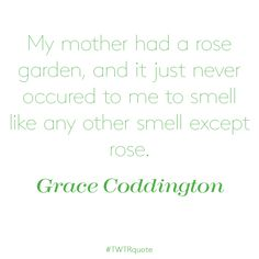 """Grace Coddington: """"My mother had a rose garden…"""" Perfume Quotes, Grace Coddington, Math, Rose, Garden, Pink, Garten, Math Resources, Lawn And Garden"""