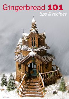 Gingerbread Recipes from the National Gingerbread Competition at Grove Park Inn   ExploreAsheville.com #gingerbread #house #holidays #asheville