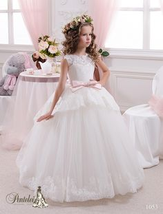 Free shipping, $97.9/Piece:buy wholesale 2016 Beautiful Kids Wedding Dresses Jewel Neck Appliques Tiers Tulle Princess Flower Girls Dresses for Weddings with Bow Sash & Backless from DHgate.com,get worldwide delivery and buyer protection service.