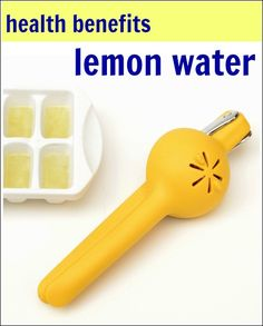 The benefits of lemon water are so important. This is why I like to start my day with a healthy glass of lemon water.