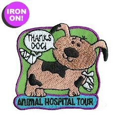 Animal Hospital Tour Fun Patch. As low as $.49. Check out Patchfun.com for all of our Girl Scout Fun Patches