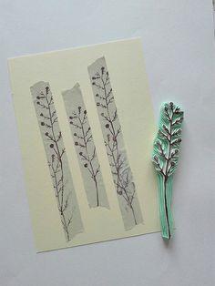 twig | rubber stamp | Ewa | Flickr