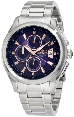 Invicta Men's 1482 Specialty Collection Chronograph Blue ... http://www.amazon.com/dp/B005DYQB38/ref=cm_sw_r_pi_dp_WT9qxb07BY92D