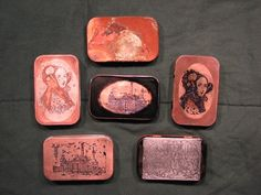Copper plating and etching Altoids tins