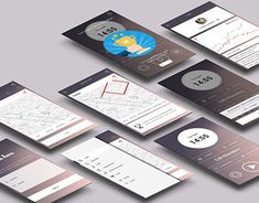 Ui Design, Graphic Design, Mobile App Design, Ui Ux, New Work, Behance, Creative, User Interface Design, Visual Communication