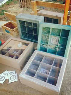 Wooden tea box by MugWood on Etsy