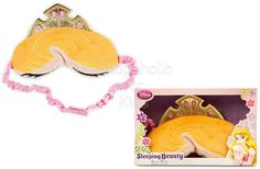 Sleeping Beauty Sleep Mask     Code: 01380  She'll feel like she slept for one hundred years and awakened ''Once Upon a Dream,'' after a night or nap in Princess Aurora's soft plush Sleep Mask with embroidered detailing, satin trims, and golden fabric tiara.   Features:  * Mask 3'' H x 6'' W (4'' H including tiara)  * Ages 3+ .   order at www.shopaholic.com.ph  #disney #disneyprincess #beauty #beautysleep #beautyrest #nap #fashion #fashionista #gift #shopph