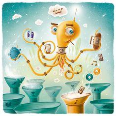 Vzamen.com - Fil Dunsky illustrations