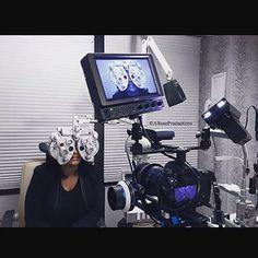 @aroseproductions using an ikan monitor on a commercial shoot! :star::movie_camera::thumbsup::star: #ikan #gear #production #commercials #equipment #ikancorp #monitor #oncamera #fieldmonitor