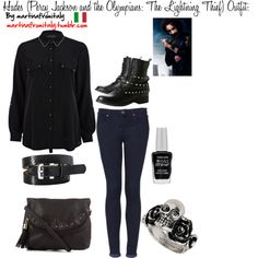 """""""Hades (Percy Jackson and the Olympians: The Lightning Thief) Outfit:"""" by martinafromitaly on Polyvore"""