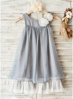 A-Line/Princess Knee-length Flower Girl Dress -