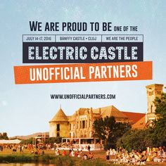 Kid you not: not only we're attending the festival, like every year, but we're also an official partner of fun at Electric Castle, supporting the  with a day off after the festival! Day Off, Castle, Electric, Kid, Child, Forts, Palace, Children, Castles