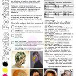 BTEC Level 3, BTEC LEVEL 3 Art and Design, BTEC National, Departmentart.co.uk, department art, GCE, Level, BTEC Level 3 Textiles, BTEC Applique, BTEC Portraits, Explosion Head Applique, Applique, Mixed media portrait, rage, anger, psychology of art, psycho portraiture