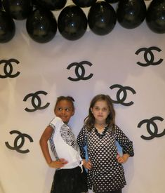 Chanel Inspired Party | CatchMyParty.com