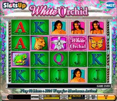 ➤ Enjoy White Orchid™ online slot FREE demo game at SlotsUp™ ✅ Instant Play! ✚ Best IGT Online Casino List to play White Orchid Slot for Real Money ✓ Online Casino Slots, Online Casino Games, Online Casino Bonus, Slot Online, J Games, Games To Play, Top Casino, Best Casino, Casino Room