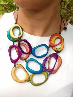 This item is unavailable Metal Clay Jewelry, Ceramic Jewelry, Enamel Jewelry, Leather Jewelry, Leather Bracelets, Leather Cuffs, Diy Jewelry, Jewelry Necklaces, Jewellery