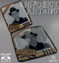 ISA'sART: PROJECT ART & LIFE - Carte Flo