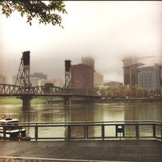 Early morning PDx fog