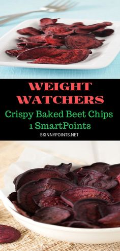 Weight Watchers Pumpkin, Weight Watchers Meals, Healthy Food, Healthy Eating, Healthy Recipes, Baked Beet Chips, Eating Clean, 4 Ingredients, Beets
