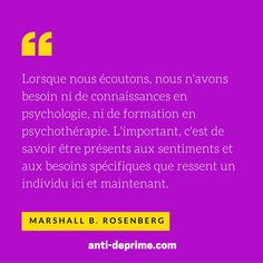 [Actu] Citations et ressources de communication non-violente (marshall b. rosenberg) - Anti déprime