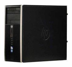 Calculator HP Compaq Elite 6200 Pro Tower, Intel Core i7 2600 3.4 GHz, 4 GB DDR3, 2 TB SATA NOU, DVDRW, Windows 10 Pro, Garantie pe Viata