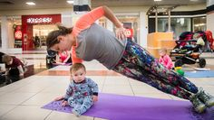 "With two young boys at home and twins on the way, Jaymie Freeman knows how hard it can be for a mom to find time to work out.""They have to find"