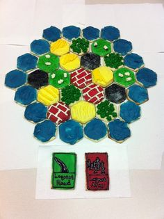 Settlers Of Catan Cookies! This is absolutely amazing I must make these!