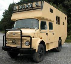 Mercedzs L710 camper van.  Hmm Alkoven vollintegriert