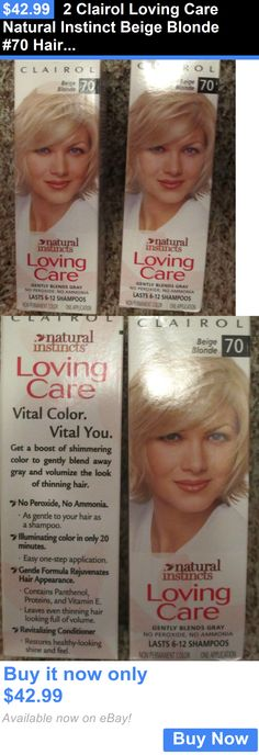 Hair Color: 2 Clairol Loving Care Natural Instinct Beige Blonde #70 Hair Color Quk Free Ship BUY IT NOW ONLY: $42.99