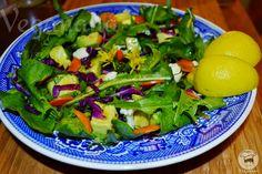 Salada de Dente de Leão | Veganana