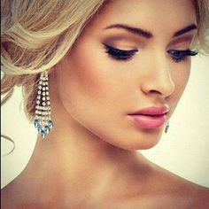 Makeup for wedding, day time, or daily wear. Pretty, sophisticated, natural smokey eyes