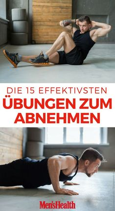 These are the 15 most effective weight loss exercises Das sind die 15 effektivsten Übungen zum Abnehmen With these 15 weight loss exercises, men can exchange their winter fat directly for strong muscles - Fitness Workouts, Fitness Motivation, 30 Day Fitness, Planet Fitness Workout, Training Motivation, Fun Workouts, Health Fitness, Mens Fitness, Quotes Fitness