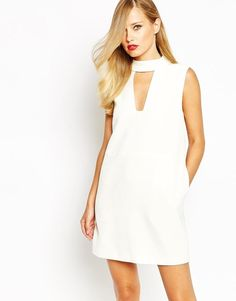 Finders Keepers   Finders Keepers Divine Eternal Mini Dress In White at ASOS