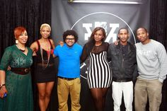 At the MTV Base VJ Search auditions in Durban with the judges: Zookey Zarling, Sizwe Dhlomo, Joey Rasdien and the finalists: Tamasha Gambushe, Wandile Chamane and Lynton Harvey Judges, Mtv, Africa, Base, Search, Research, Searching, Afro
