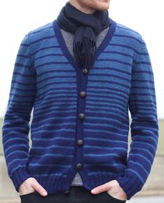 Free Knitting Pattern for Transitions Cardigan