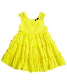 Embelished Shoulder Dress - Bardot Junior