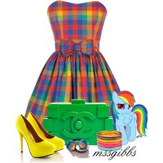 My Little Pony by mssgibbs on Polyvore