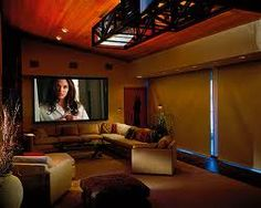 Small And Open Home Theater Room Design Theater Room Design Home Theater Rooms
