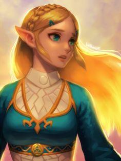 BotW Zelda by bellhenge on DeviantArt