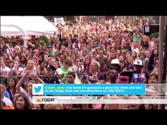 "One Direction  "" Little Things"" on Today Show"